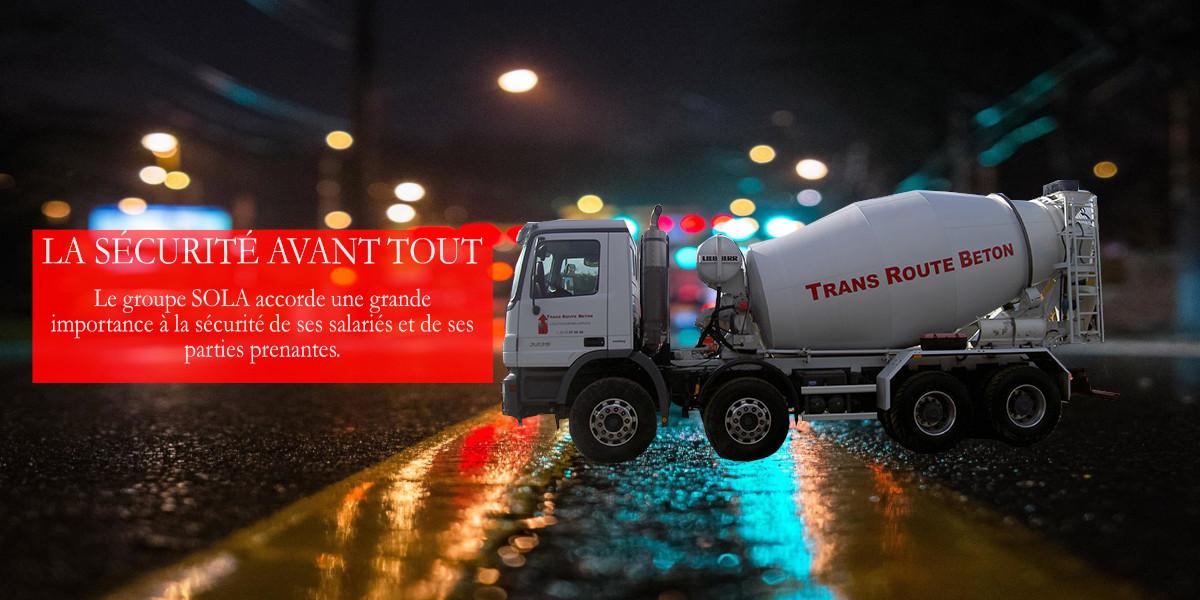 Sécurité transport Groupe SOLA