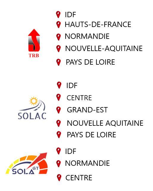 Localisation Groupe SOLA