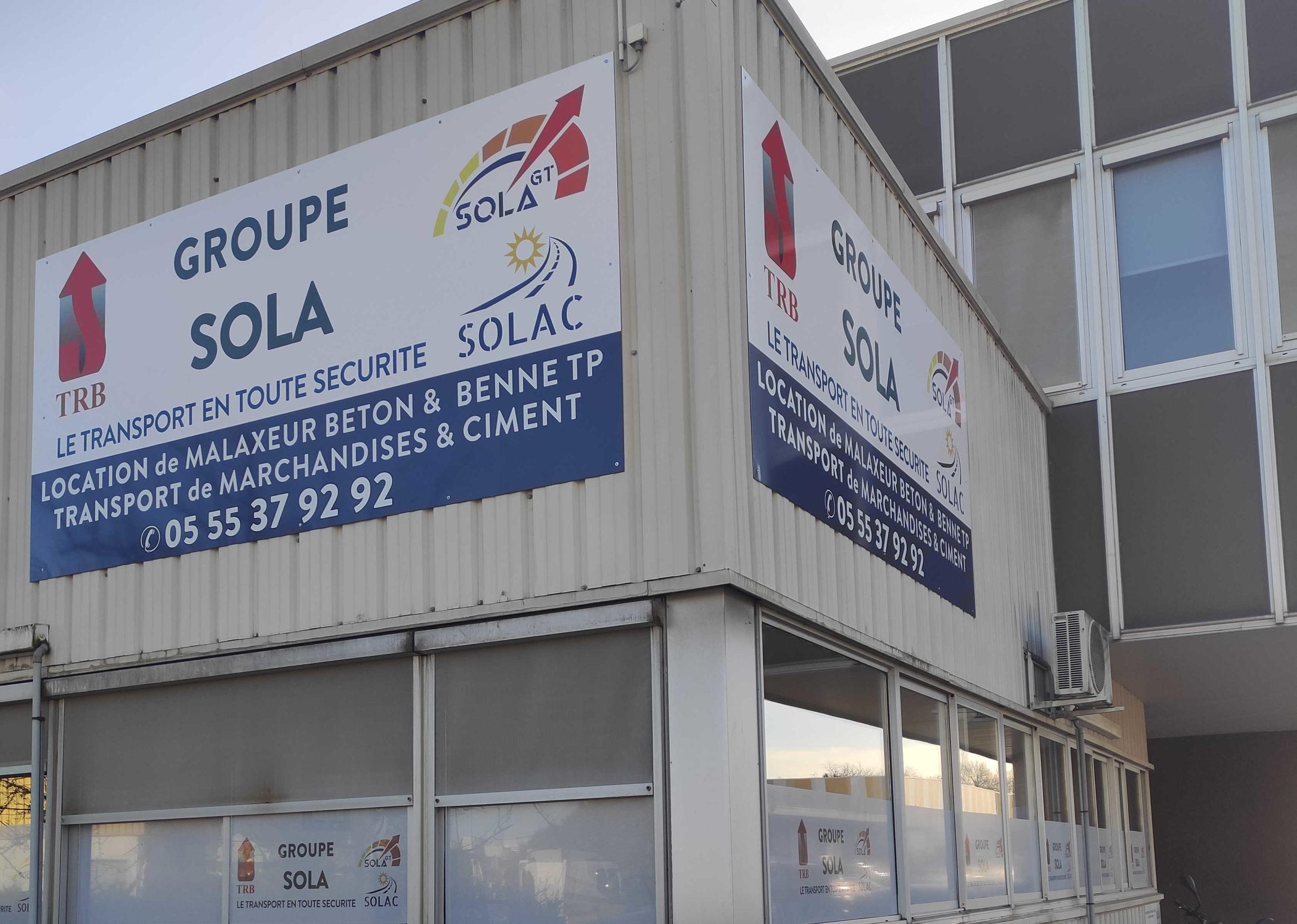 Groupe SOLA Transport béton